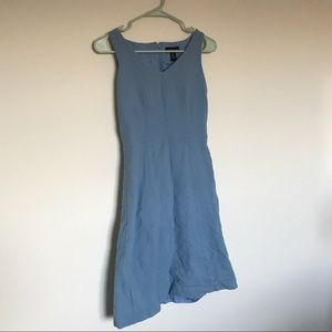 Light blue 100% wool Ann Taylor dress